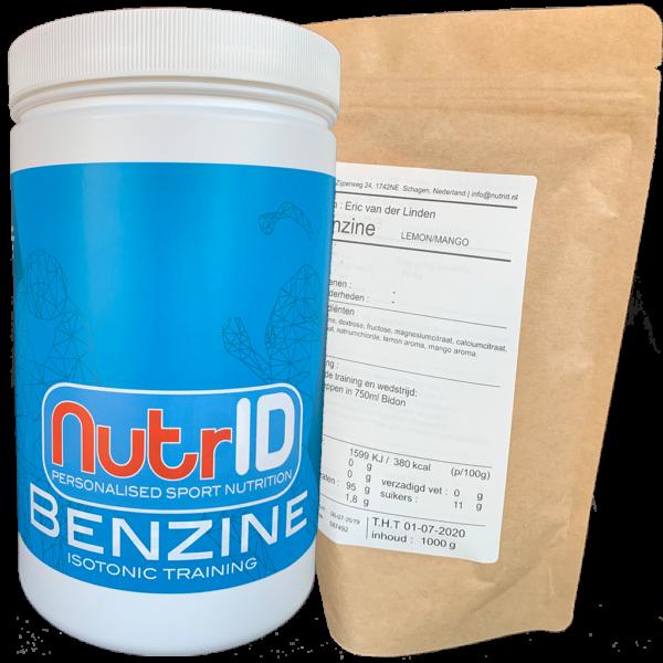 NutrID Benzine isotonic training