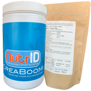 NutrID Creaboom creatine for endurance athletes triathlon