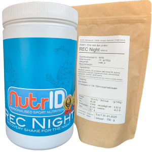 NutrID Rec NIght recovery shake for sleep