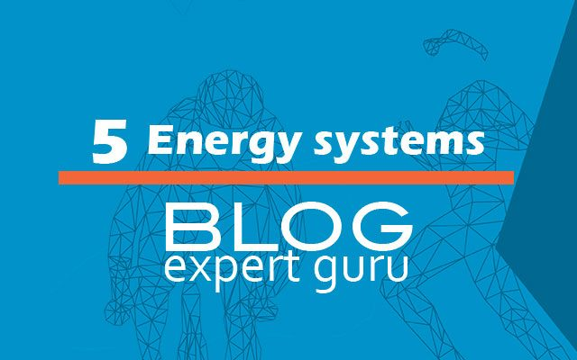 The five energy systems